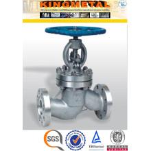Dn150 fabricante de la válvula de globo del acero inoxidable de 4 pulgadas Pn16