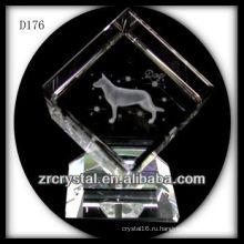 К9 Признаки Лазерная Животное Собака Внутри Кристалла