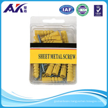 Plastic Wall Anchor with Machine Screw Assortment