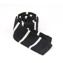 Пользовательские мужские хорошего качества вышитые трикотажные галстук тощий галстук