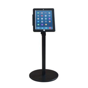IPAD floor stand anti-theft with lock adjustable
