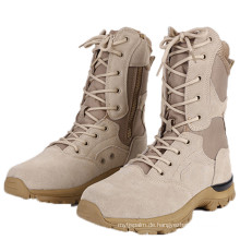 Wildleder-Militärkampf Stiefel Wüstenstiefel