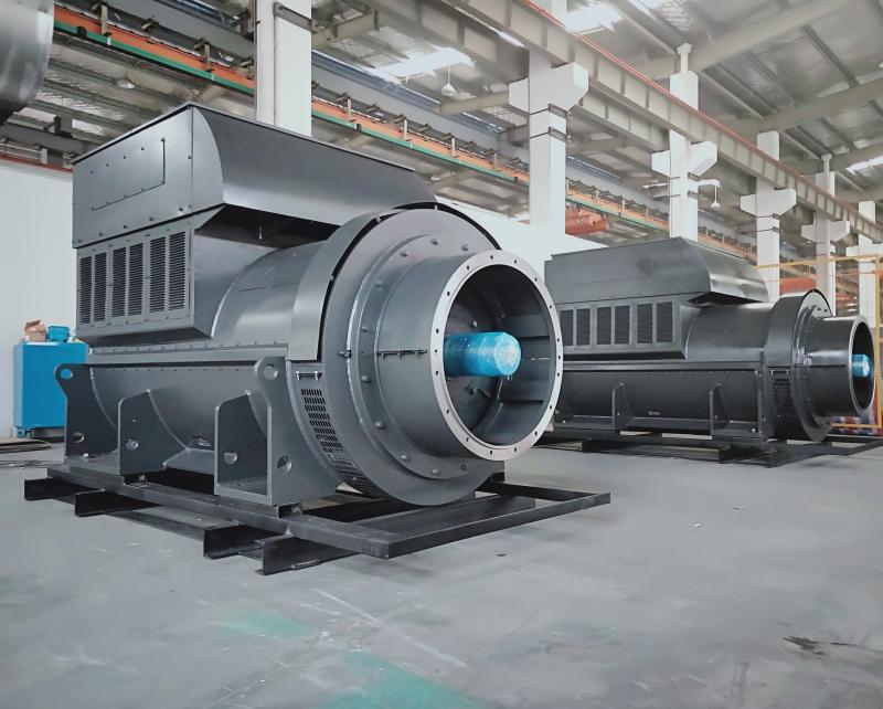 10.5KV Double Bearing Industrial Alternator