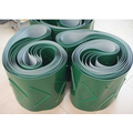 Food grade pvc conveyor belt,green and white PVC conveyor belt