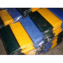 Tela africana GHALILA jacquard duro handfeel poliéster 5 yardas / bolsa bazin riche damasco textiles