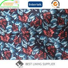Shine 100% Polyester Print Futter für Herrenanzug