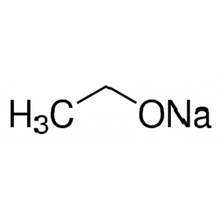 sodium methoxide elimination reaction