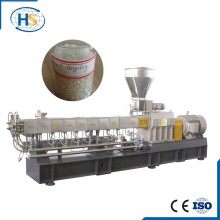 Plastic Nylon Fabric Making Machine of Double Screw Extruder in Plastic Extrusion Tse-65A