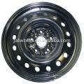 "Made in China Black 15"" Steel Wheel Rim for Passenger Car"