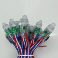 Ws2811 12V píxeles LED SMD5050 Flexible 5mm cadena LED