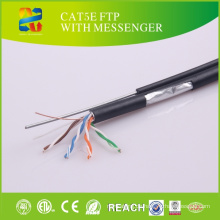 China Verkauf hohe Qualität niedriger Preis Cat5e FTP mit Messenger