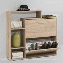 Деревянный шкаф для хранения обуви / стойка для обуви (HF-EY0831)