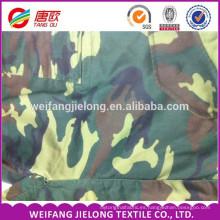 Tela de camuflaje TC de diseño clásico para hacer tela de camuflaje militar militar al aire libre y de tela de ejército t / c 65/35 camuflaje