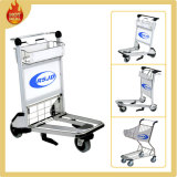 3 Wheels Aluminum Airport Trolley with Brake (LG4)