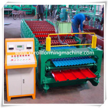 Metal Sheet Roof Panel Double Layer Roll Forming Machine