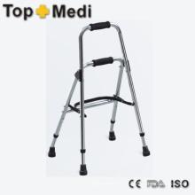 Caminante ligero plegable de aluminio para discapacitados