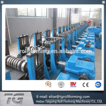 Beste Qualität mit CE-Zertifikat Stahl Doppelschicht gute Supermarkt Regal Säule Kaltwalze Formmaschine