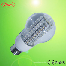 5-15W bombilla LED con la cubierta transparente