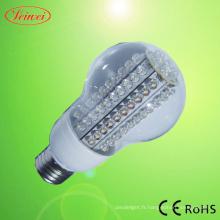Ampoule LED 5-15W avec couvercle Transparent