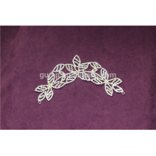 Appliques en sequin de strass robe de mariage en cristal Applique
