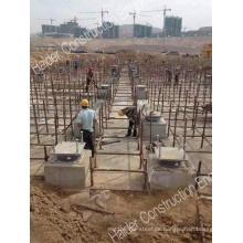 Seismische Isolatoren für Buidings gegen Erdbeben