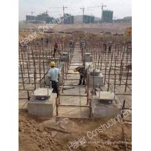 Isolateurs sismiques pour Buidings Against Earthquack