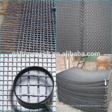 304 de acero inoxidable malla de alambre rizado / malla de alambre de barbacoa proveedor