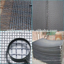 304 stainless steel crimped wire mesh/barbecue wire mesh supplier
