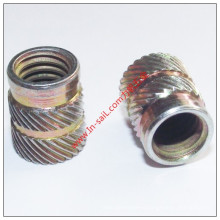 Stainless Steel Zinc Plating Knurled Insert Nut