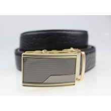 Luxury Automatic Alloy Buckle PU Leather Unique Mens Fish Belt
