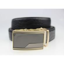 Luxury Automatic Alloy Buckle PU Leather Unique Mens Fish Belt