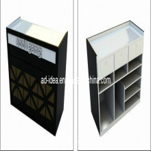 Cash Desk/Checkout Display Cabinet with Logo for Store (AD-130708)
