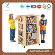 Kids Book Case with Display & Storage Shelving