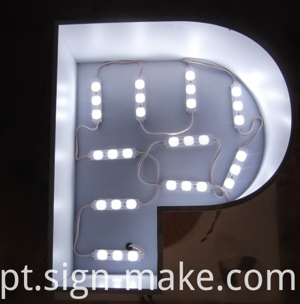 Front Lit Channel Letters