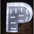 Trimless Frontlit LED Lighted Letter Sign Display