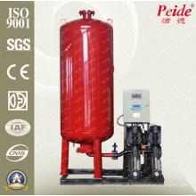 Sistema de água de pressão constante de tanque de onda