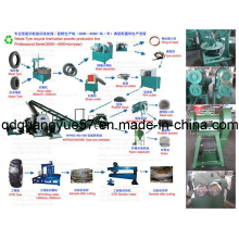 Waste Tyre Cutting Machine/Waste Tyre Recycling Line