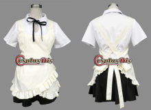 Japanese Simple Maid Costume from Working Cosplay Costume