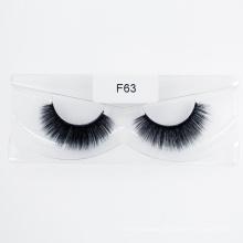 3D 5D 25mm Faux Fur Eyelashes Hand Made Full Strip Lashes False Mink Eyelashes