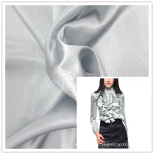 dyed shiny polyester Satin for women shirts
