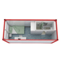 Accommodation container house single room with mini home