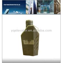 Elevador Aceite lubricante, De la acción deslizante del elevador