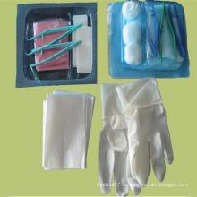 Одноразовый стерильный комплект для медицинского применения