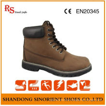 Crazy Horse Leather Goodyear Welt Safety Boots RS040