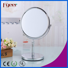 Fyeer Hot Sale Double Side Turnover Bathroom Magnifying Cosmetic Mirror