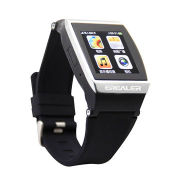 NFC Bluetooth watch for smart phone with music player, radio, camera, alarm clock, watches