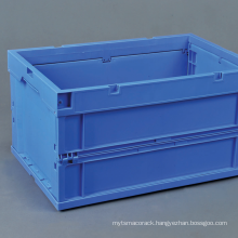 Collapsible container for logistic industry