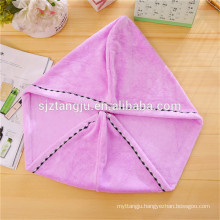 durable 25*65cm,300gsm Hair Drying Towel with Buttons