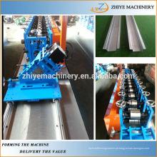 Metal galvanizado Omega perfil laminação a frio formando máquinas