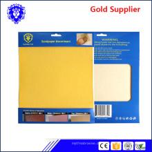 2018 Fabrik Direktverkauf wasserdicht oder trocken Schleifpapier Schleifpapier Schleifpapier Schleifpapier
